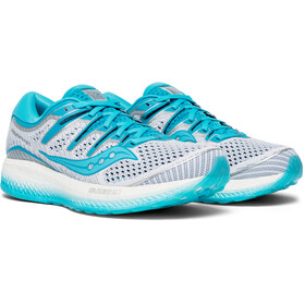 saucony Triumph ISO 5 Shoes Women White/Blue